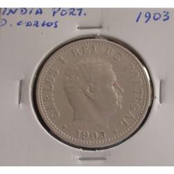 India - D. Carlos - 1 Rupia - 1903