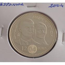 Espanha - 12 Euro - 2004 - Prata