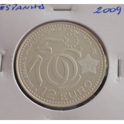 Espanha - 12 Euro - 2009 - Prata