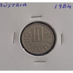 Aústria - 10 Groschen - 1984