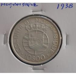 Moçambique - 10 Escudos - 1938 - Prata