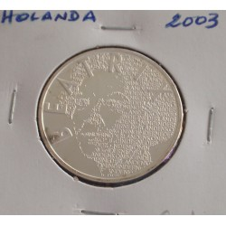 Holanda - 5 Euro - 2003 - Prata
