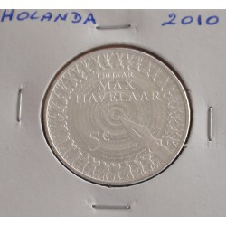 Holanda - 5 Euro - 2010 - Prata