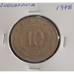 Jugoslávia - 10 Dinara - 1978