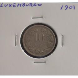 Luxemburgo - 10 Centimes - 1901