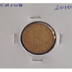 China - 5 Jiao - 2010