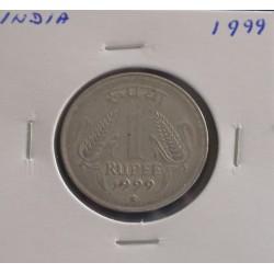 India - 1 Rupee - 1999