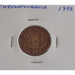 Checoslováquia - 20 Haleru - 1972