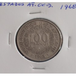 Estados de África Ocidental - 100 Francs - 1968