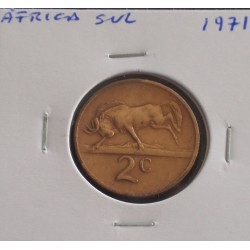 África do Sul - 2 Cents - 1971