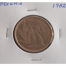 Bélgica ( Belgique ) - 20 Francs - 1982