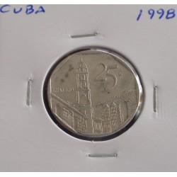 Cuba - 25 Centavos - 1998