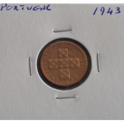 Portugal - 10 Centavos - 1943