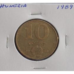 Hungria - 10 Forint - 1989