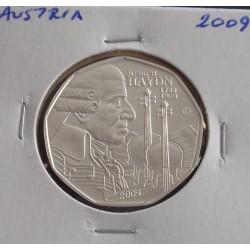 Aústria - 5 Euro - 2009 - Prata