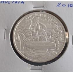 Aústria - 10 Euro - 2010 - Prata