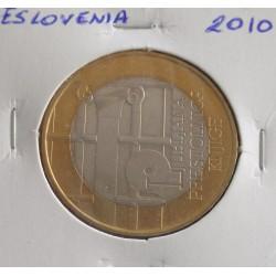 Eslovénia - 3 Euro - 2010