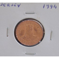 Jersey - 1 Penny - 1994