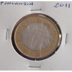 Finlândia - 5 Euro - 2011