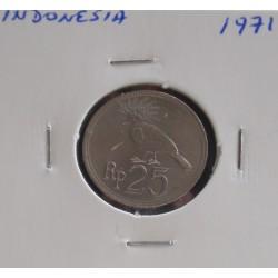 Indonésia - 25 Rupiah - 1971