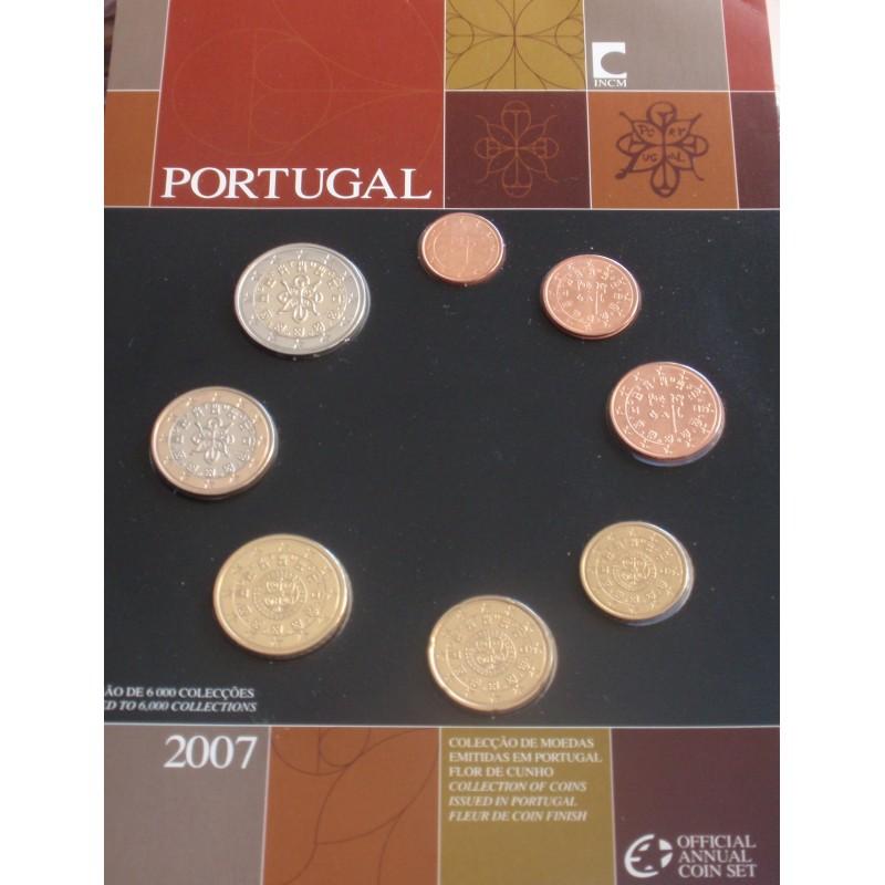 Portugal - Série Anual - 2007 - FDC