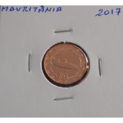 Mauritânia - 1/5 Ouguiya - 2017
