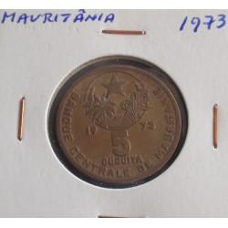 Mauritânia - 5 Ouguiya - 1973