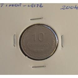 Timor - Leste - 10 Centavos - 2004