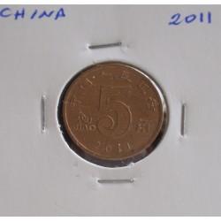 China - 5 Jiao - 2011