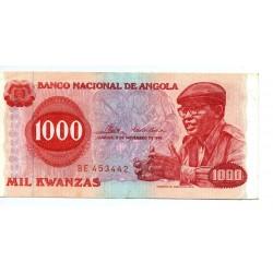 Angola - Nota - 1000 Kwanzas - 11/11/1976 - Agostinho Neto