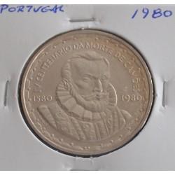 Portugal - 1000 Escudos - 1980 - Camões - Prata