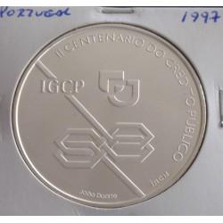 Portugal - 1000 Escudos - 1997 - Crédito Público - Prata
