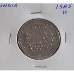 India - 1 Rupee - 1985 H