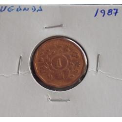 Uganda - 1 Shilling - 1987