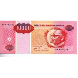 Angola - Nota - 10000 Kwanzas - 01/05/1995 - José Eduardo dos Santos e António Agostinho Neto