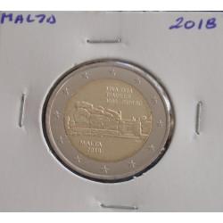 Malta - 2 Euro - 2018 - Templo Mnajdra