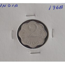 India - 2 Paise - 1968