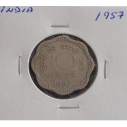 India - 10 Paise - 1957