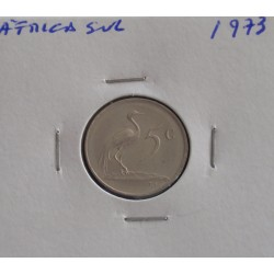 África do Sul - 5 Cents - 1973