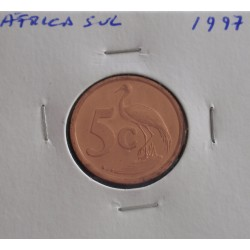 África do Sul - 5 Cents - 1997