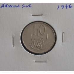 África do Sul - 10 Cents - 1976