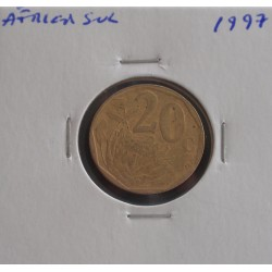 África do Sul - 20 Cents - 1997