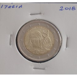 Itália - 2 Euro - 2018 - Ministério da Saúde