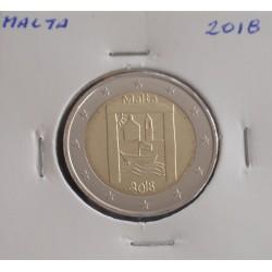 Malta - 2 Euro - 2018 - Património Cultural