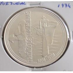 Portugal - 1000 Escudos - 1994 - Tratado de Tordesilhas - Prata