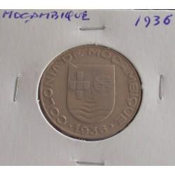 Moçambique - 1 Escudo - 1936