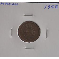 Macau - 5 Avos - 1952