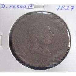 D. Pedro IV - Pataco - 1827