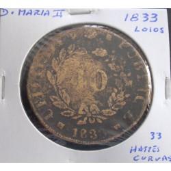 D. Maria II - Pataco - 1833...