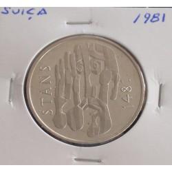 Suiça - 5 Francs - 1981 -...